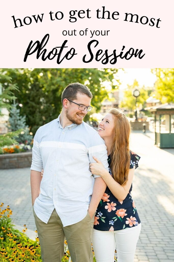 how to get the most our of your photo session